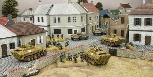 Sd Kfz 251/17 AA half-tracks