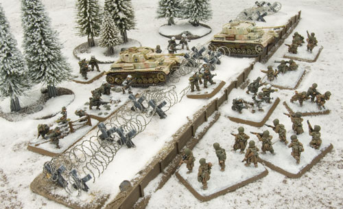 Grenadiers and Panzer IV tanks
