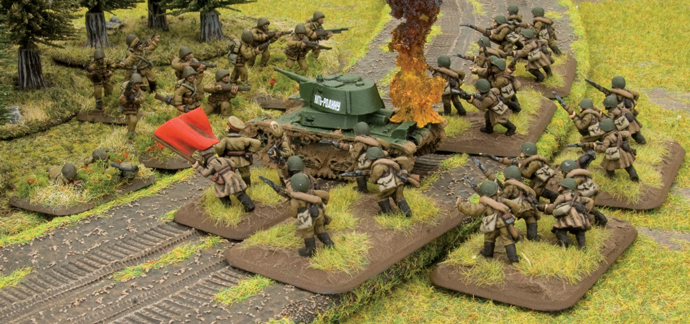 Poland Invaded! Early War Soviet Infantry Forces