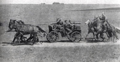 Tachanka machine-gun wagon
