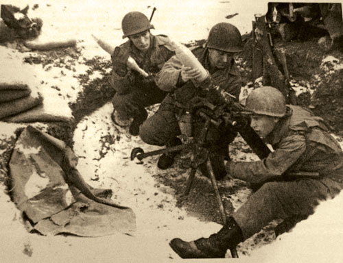 10th Mountain Division mortar team