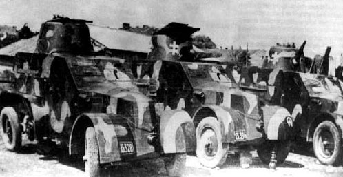 OA vz 30 Armoured Cars