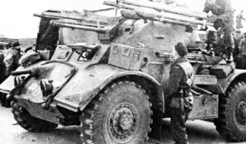 Staghound with rockets