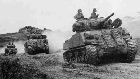 Canadian Sherman IIIs