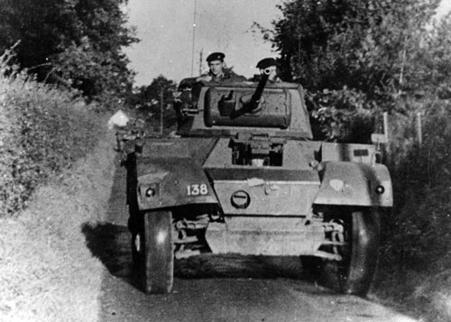 Belgian Daimler armoured car