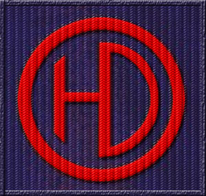 51st Highland Division patch