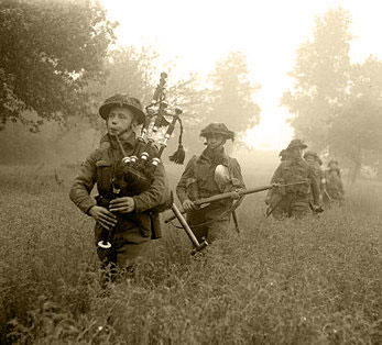 Highlanders in Normandy