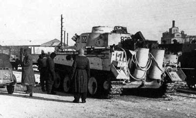 Das Reich Tiger during the fighting for Kharkov