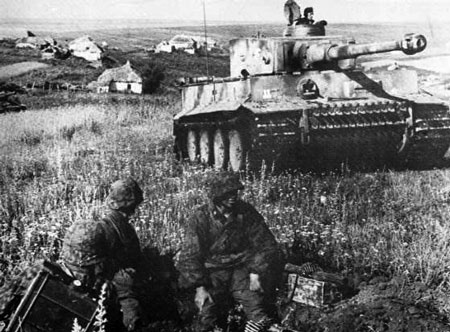 Das Reich Tiger during Operation Citadel