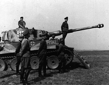 Das Reich Tiger used as a review platform