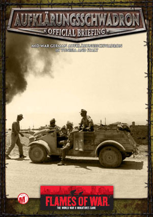 Aufklärungsschwadrons briefing cover
