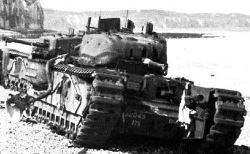 Chuchill Oke flame-tank