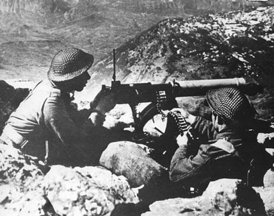 Polish Machine-gunners.