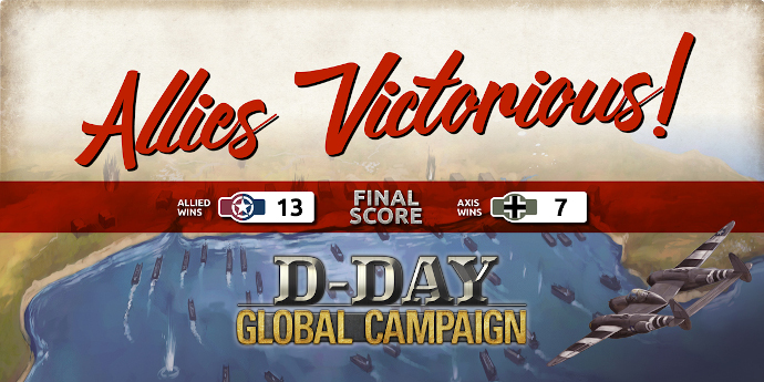 The D-Day Global Campaign Is a Wrap