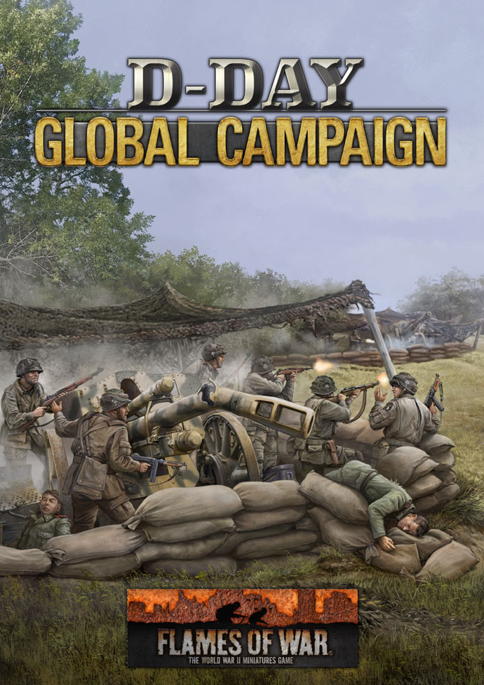 D-Day Global Campaign Rule Book (x1)