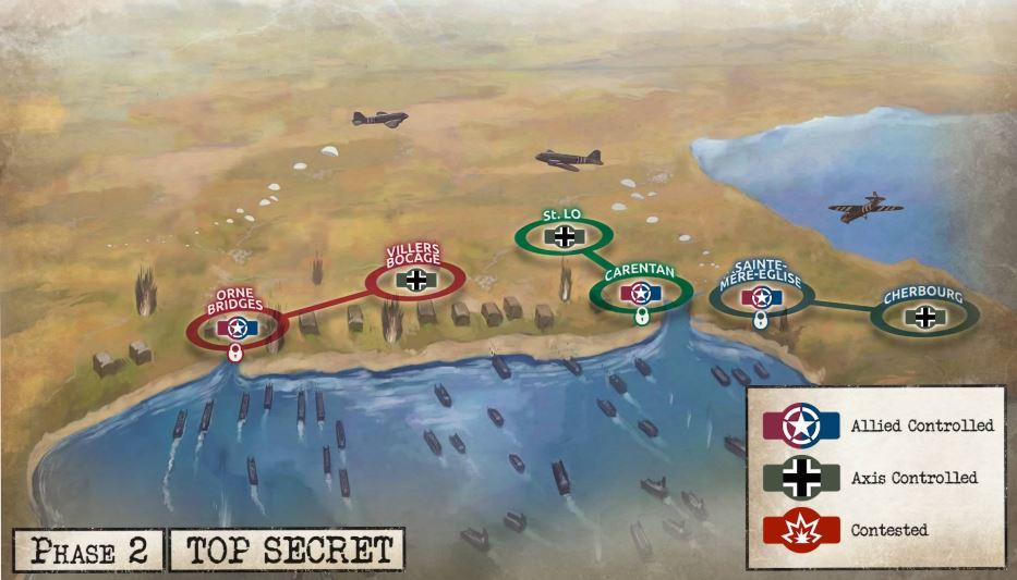 D-Day: Global Campaign Map