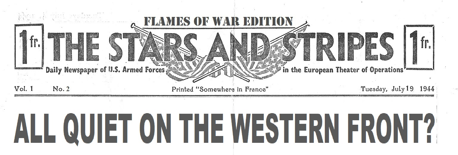 Extra! Extra! Read All About It! Click here to read the LATEST issue of Stars & Stripes!