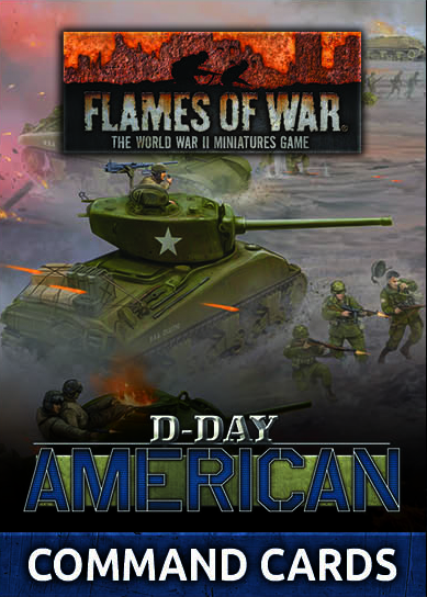 D-Day: American Command Cards (FW262C)