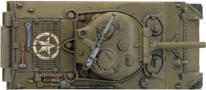 M4 Sherman (105mm) Assault Gun Platoon (Plastic) (UBX71)