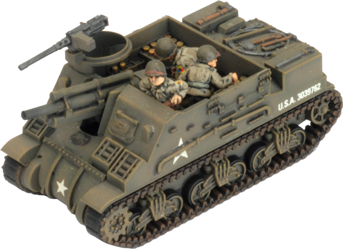 M7 Priest Artillery Battery (Plastic) (UBX73)