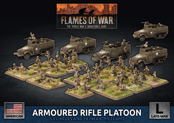 Armoured Rifle Platoon (Plastic) (UBX75)