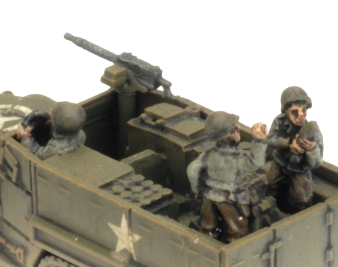 M4 81mm Armoured Mortar Platoon (UBX78)
