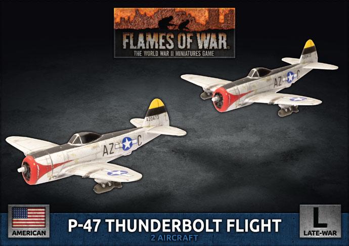 P-47 Thunderbolt Flight (UBX85)