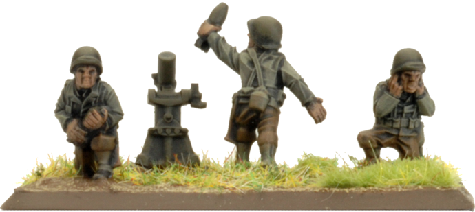 81mm Mortar Platoon (Plastic) (US804)