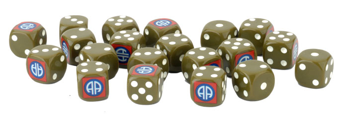 82nd Airborne Dice Set (US904)