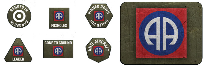 82nd Airborne Token & Objective Set (US905)