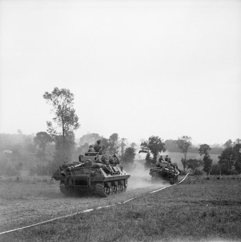 British Anti-Tank units and markings Normandy - June – August 1944