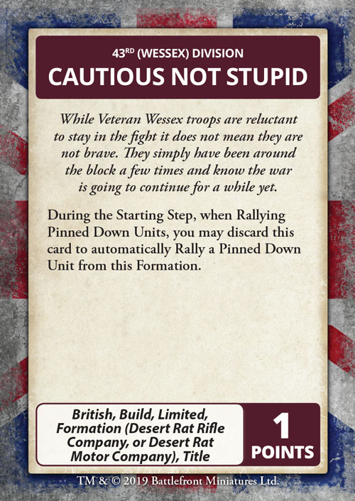 Cautious Not Stupid