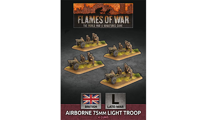 Airborne 75mm Light Troop (Plastic) (BBX50)