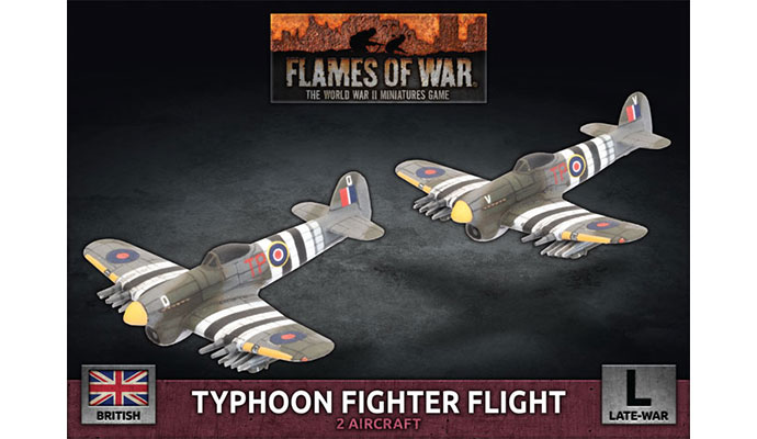 Typoon Fighter-Bomber Flight (Plastic) (BBX66)