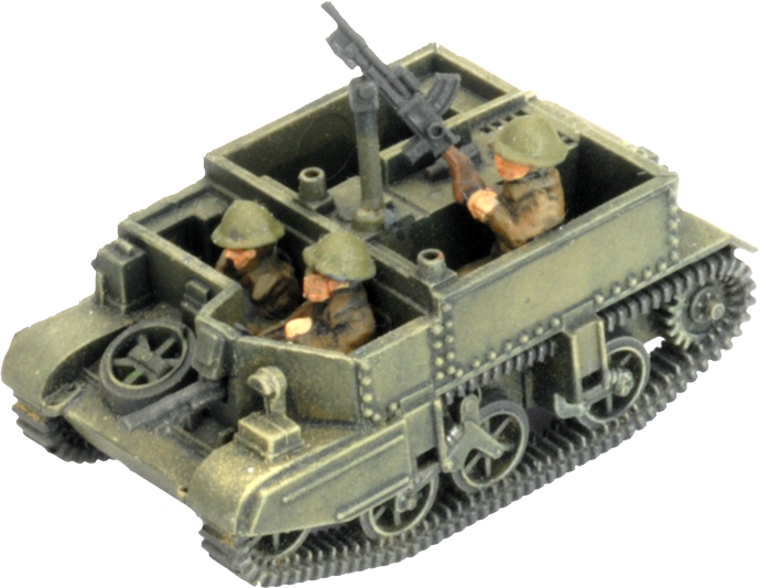 Assembling The Universal Carrier (BBX55)