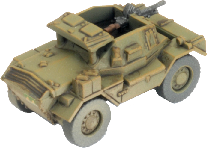 Daimler Armoured Car Troop (Plastic) (BBX61)