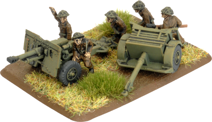 25 pdr Field Troop (Plastic) (BBX63)