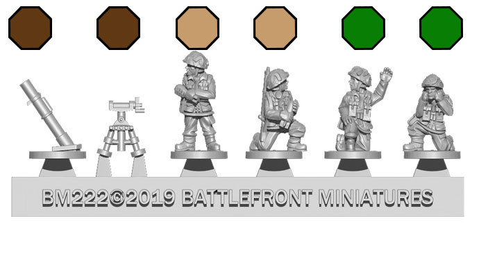 Assembling The Airborne 3-inch Mortar Platoon (BR815)
