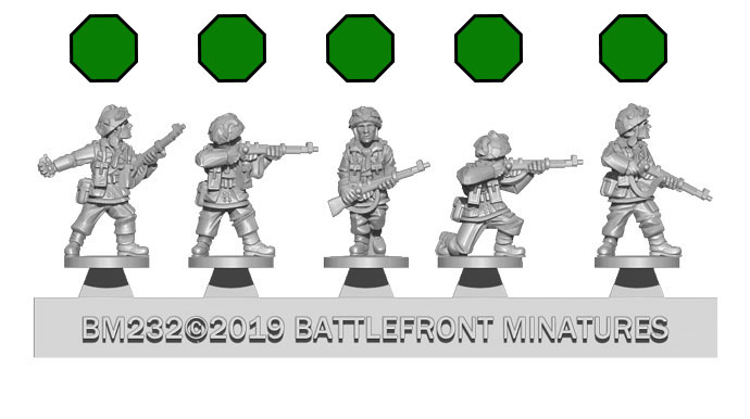 Assembling the Paratrooper Platoon