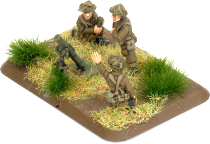 Assembling the 3-inch Mortar Platoon (BR729)