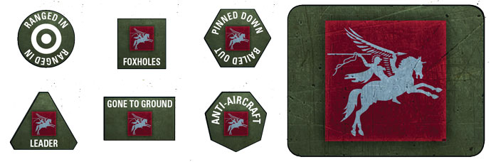 6th Airborne Token & Objective Set (BR907)