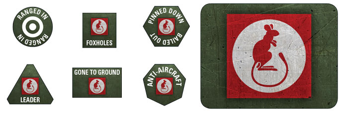 7th Armoured Division Token Set (BSO903)