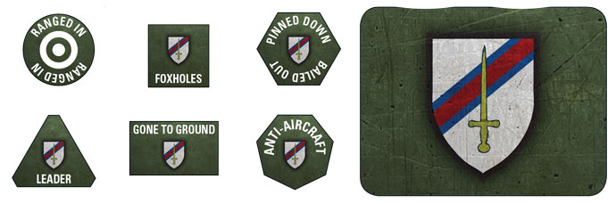 6th Guards Tank Brigade Token Set (BSO904)