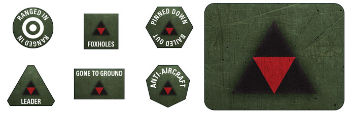 3rd Infantry Division Token Set (BSO906)