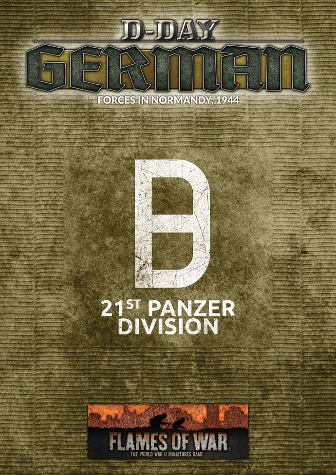 21st Panzer Division Missions for Flames Of War
