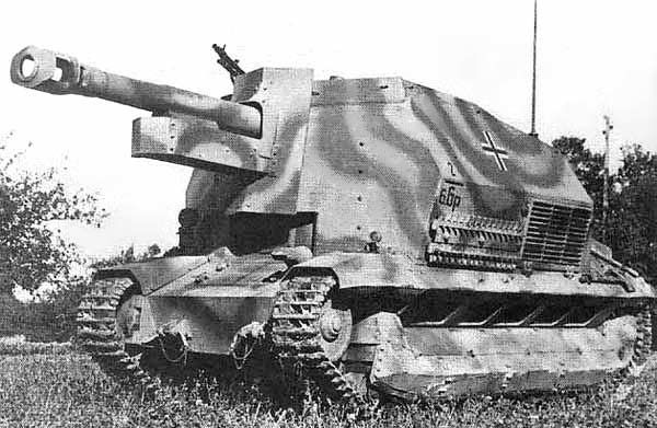 Baustab Becker and 21. Panzer-Division in Normandy