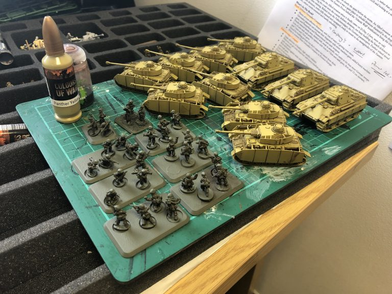 Chris Builds a D-Day: German Tournament List
