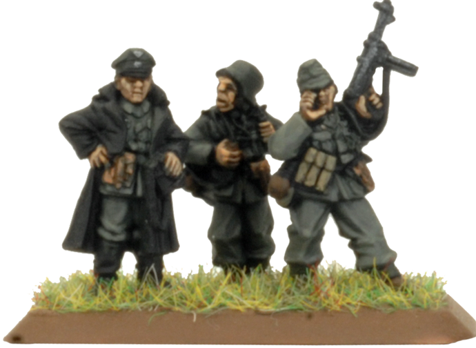 Armoured Reconnaissance Company HQ (Plastic) (GBX150)