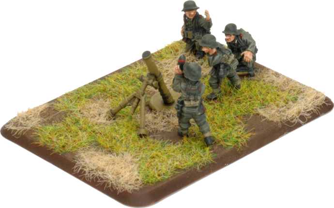 Assembling The 12cm Mortar Platoon