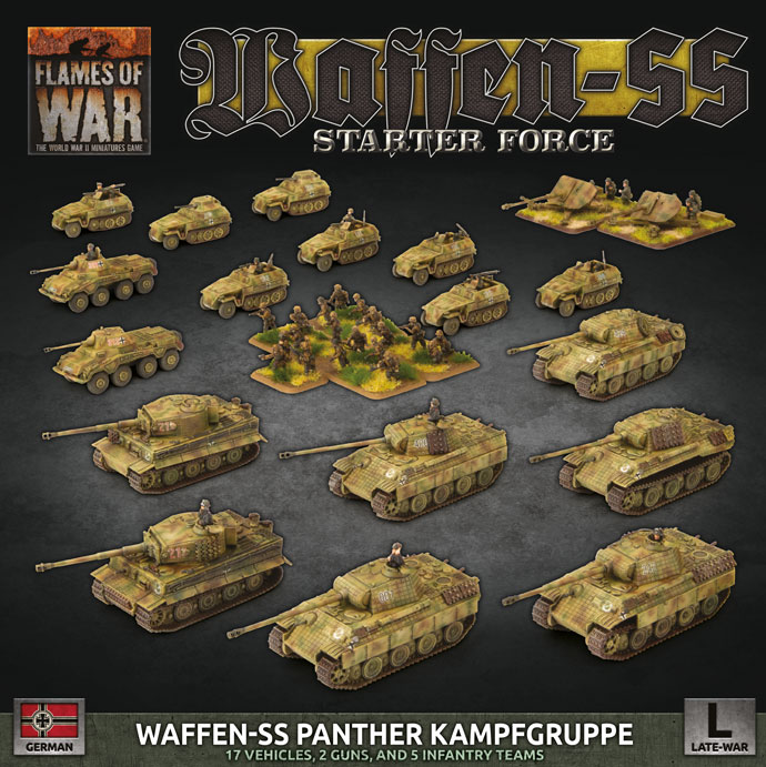 Waffen SS Panther Kampfgruppe (Plastic) (GEAB19)